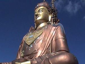 Samdruptse Statue , Guru Padmasambhava