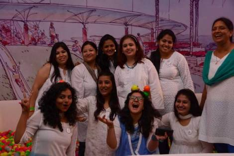 OUR TEAM  ( PC : Indiblogger )