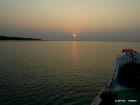 The Deltaic Region of River Ganga ( Ganges) , View From A Fishing Boat