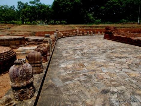The Votive Stupas and the adjoining Chaitya hall