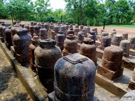 Votive Stupas