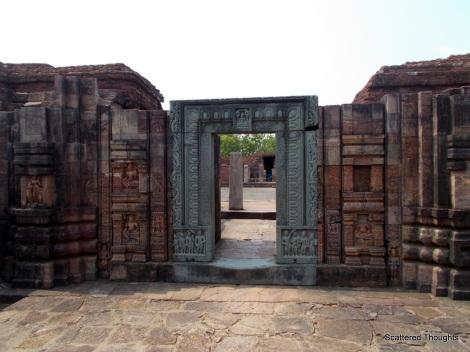 Entrance to the main monastery