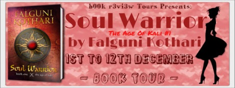 Soul Warrior Book Tour Banner