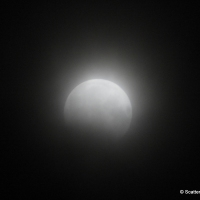 Partial Lunar Eclipse on August, 7, 2017